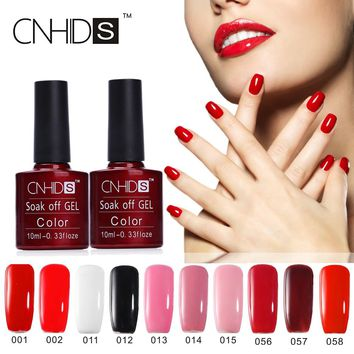 Hot Sale 132 Colors Nail Gel Polish Color Coat UV&LED Lamp Gel Polish Long-lasting Soak Off Nail Gel Manicure Art Tools 7.5ml/pc
