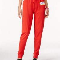 Nickelodeon X Love Tribe Juniors' Rugrats Logo Jogger Pants - Juniors Leggings & Pants - Macy's