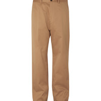 Balenciaga - Wide-Leg Cotton-Blend Chinos