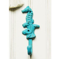 Seahorse Wall Hook - Choose Your Color - Colorful Cast and Crew