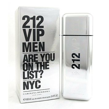 212 VIP MEN by Carolina Herrera Cologne 3.4 oz. EDT Spray