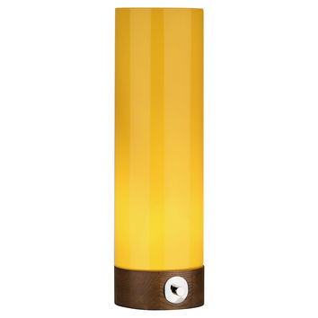 Robert Abbey, Capri Large Table Torchiere, Yellow, Table Lamps