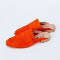 At Ease Loafer in Tangerine by Free People - cladandcloth