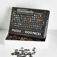 Nifty Nerd The Elements Puzzle by ModCloth