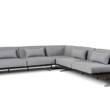 Florence Modern Fabric Sectional Sofa