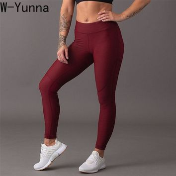 W-Yunna Women New Sexy Leggings High Waist Skinny Workout Leggings Ankle Length Fitness Push Up Leggings Trending Products 2019