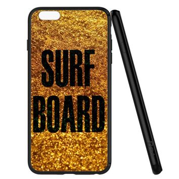 Gold Surf Board Beyonce Inspired iPhone 6 | 6S Case Planetscase.com