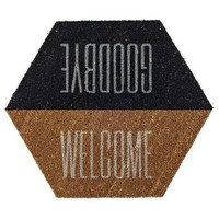 "Coir Door Mat ""Welcome/Goodbye"" - 3R Studios : Target"