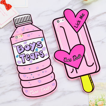 Boys Tears Silicone Case Iphone 6 6s 6 Plus 5 5s