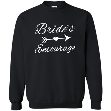 Bride's Entourage Gift T-Shirt For Wedding Bridesmaids