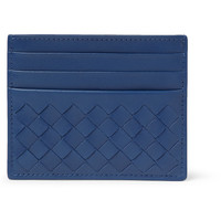 PRODUCT - Bottega Veneta - Intrecciato Woven-Leather Card Holder - 400381 | MR PORTER