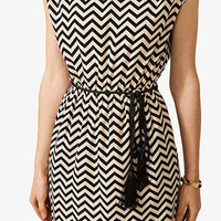 Geo Pattern Shift Dress