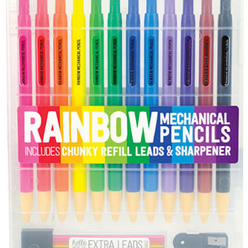 Rainbow Mechanical Colored Pencils Set