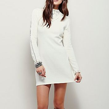 Free People Womens Prairie Mountain Mini Dress
