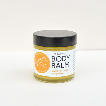 Body Balm in Sweet Orange & Vanilla by Lucky Cloud