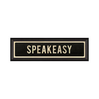 SPEAKEASY Framed Kitsch Print