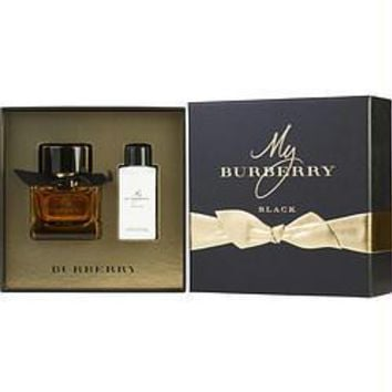 Burberry Gift Set My Burberry Black By Burberry