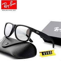 Ray-Ban 2019 new men and women models large frame retro polarized colorful sunglasses #2