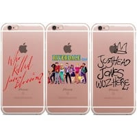 American TV Riverdale for iphone 6 6S 7 Plus 5 5S SE Soft Silicon tpu for Samsung S6 S7 Edge S8 Plus J3 J5 J7 2016 A3 A5 A7 2017