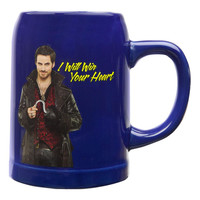 Once Upon A Time - Captain Hook Win Your Heart Ceramic Stein