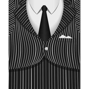 "Pinstripe Gangster Jacket Printed Costume Aluminum 8 x 12"" Aluminum Sign All Over Print"
