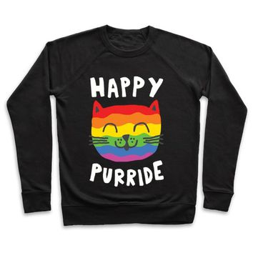 Happy Purride Crewneck Sweatshirt