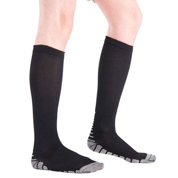 Women's Anti-Fatigue Knee High Stockings Compression Support Socks for Outdoor Sports Running Hot