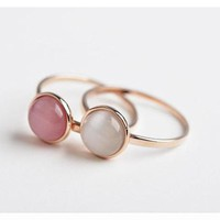 Rose Gold Gypsy Ring