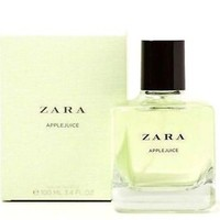 ZARA  APPLEJUICE EAU DE  TOILETTE WOMEN FRAGRANCE 100 ML NEW SEALED BOX