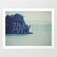 Adventure Island Art Print by Leah Flores