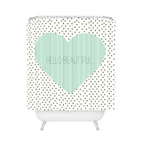 Beautiful Inside and Out Shower Curtain