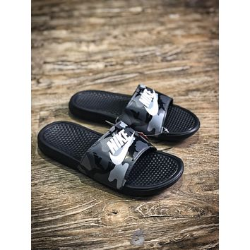 Nike Benassi Swoosh Sandals Style #12 Slippers