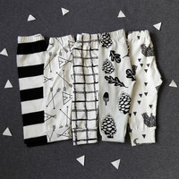 Pure Cotton Abstracet Print Leggings for Baby
