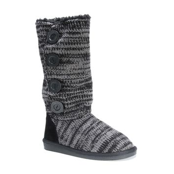 Muk Luks Women's Polyester/ Acrylic Liza Boots | Overstock.com Shopping - The Best Deals on Boots