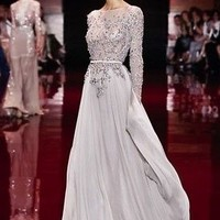 Wholesale price Bridesmaid Wedding Gown Prom Ball Evening Dress 4-6-8-10-12-14..