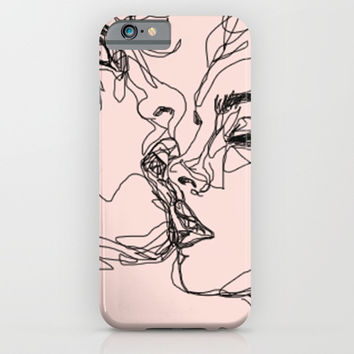 kiss more often iPhone & iPod Case by Sophie Schultz