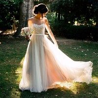 Beach Wedding Dresses 2017 New Boho Wedding Dresses Chiffon Lace Appliques Bridal Gowns Country Bride Dress