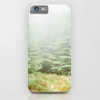 Misty Pines iPhone & iPod Case by Errne
