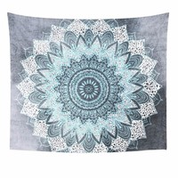 Bohemian Mandala Wall Hanging-Moroccan Indian Printed Decorative Wall Tapestries