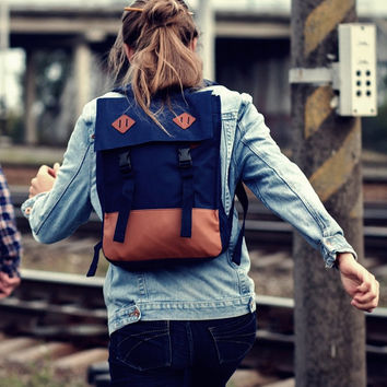 Laptop Backpack, Book Bag, School Backpack, Bookbag, Minimalist Backpack, Square Backpack, Boys Backpack, Girls Backpack, Canvas Backpack
