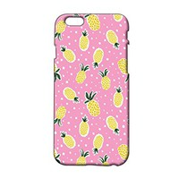 Pineapple Pattern Plastic Phone Case for Iphone 6 [Wireless Phone Accessory]
