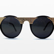 Hi Teque Sunglasses in Black and Gold from Spitfire