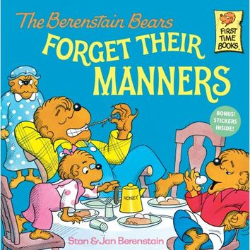The Berenstain Bears Forget Their Manners - Walmart.com