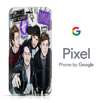 5SOS Poster Don't Stop Google Pixel Phone 3D Case