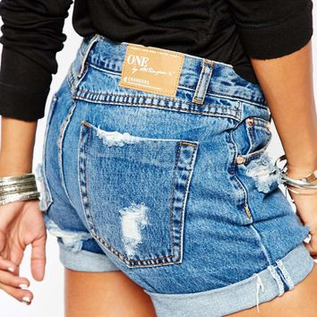 One Teaspoon Pacifica Charger Shorts