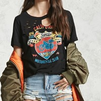 Ripped Moto Club Graphic Tee