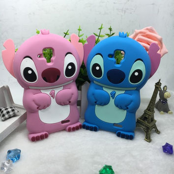 3D cartoon silicone case For Lenovo A536 cover housing stitch anti-knock back shell for Lenovo A 536 phone case soft silicone