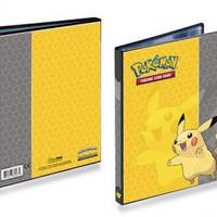 Pokemon 4 Pocket Portfolio - Pikachu