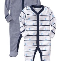 Old Navy Footed Sleeper 2 Packs For Baby