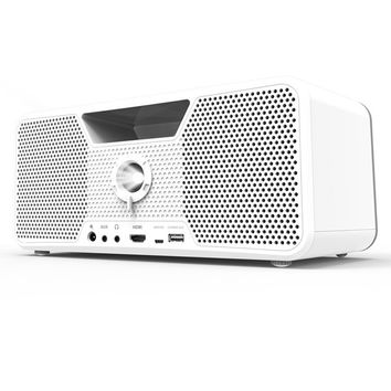 Boombox Mobile HD Projector by Dashbon